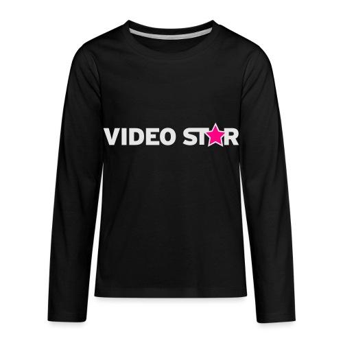 vs tee text 73x13b - Kids' Premium Long Sleeve T-Shirt