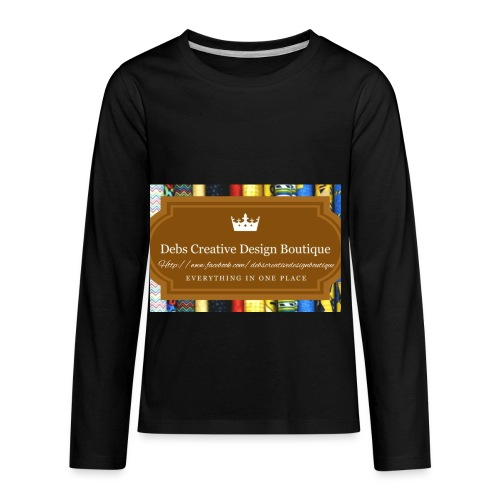Debs Creative Design Boutique with site - Kids' Premium Long Sleeve T-Shirt