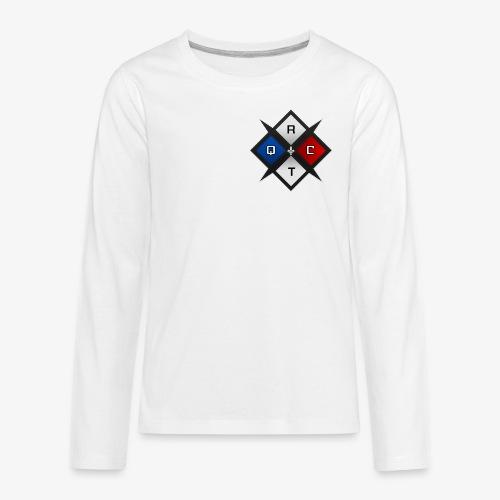 RTQC Logo - Kids' Premium Long Sleeve T-Shirt