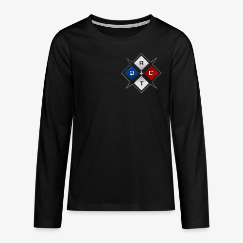 RTQC Logo - Kids' Premium Long Sleeve T-Shirt