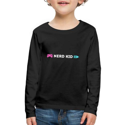 Nerd Kid - Kids' Premium Long Sleeve T-Shirt