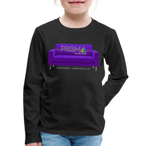 Purple Couch - Kids' Premium Long Sleeve T-Shirt