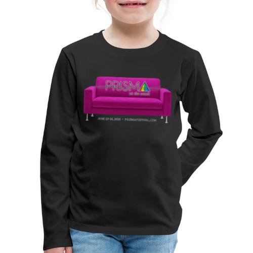 Pink Couch - Kids' Premium Long Sleeve T-Shirt