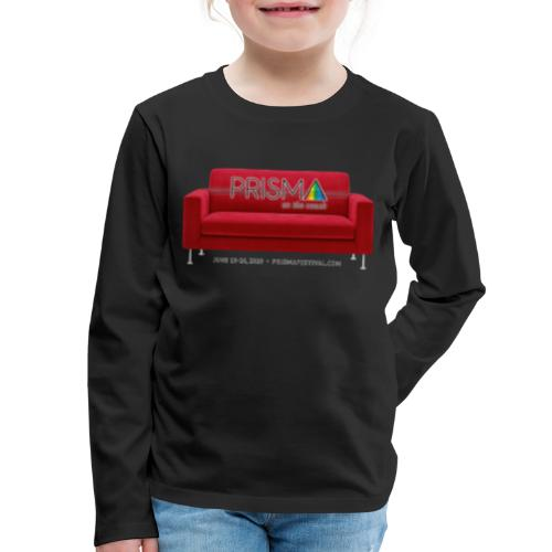PRISMA on the Couch: Red - Kids' Premium Long Sleeve T-Shirt