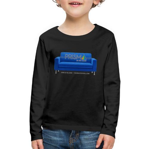 Blue Couch - Kids' Premium Long Sleeve T-Shirt