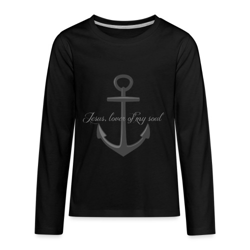 Anchor of my soul - Kids' Premium Long Sleeve T-Shirt