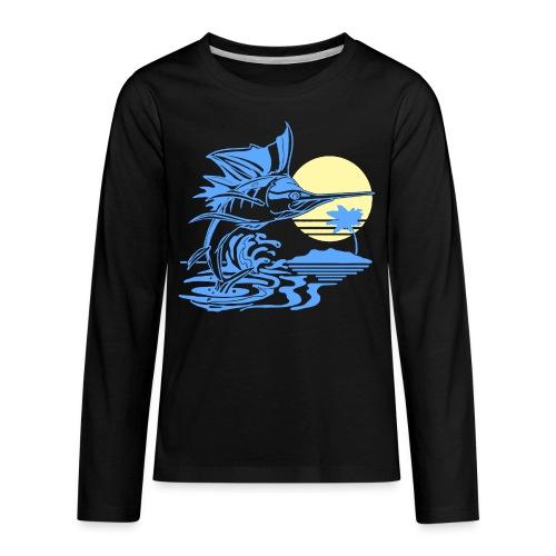 Sailfish - Kids' Premium Long Sleeve T-Shirt