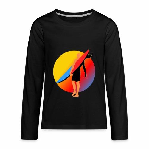 SURFER - Kids' Premium Long Sleeve T-Shirt