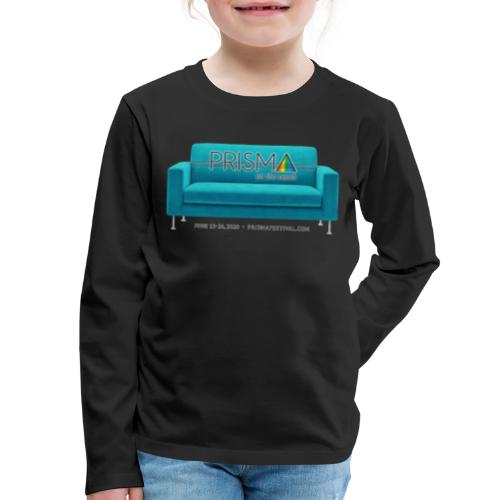 Teal Couch - Kids' Premium Long Sleeve T-Shirt