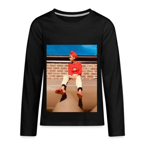 Flamin_Danger - Kids' Premium Long Sleeve T-Shirt