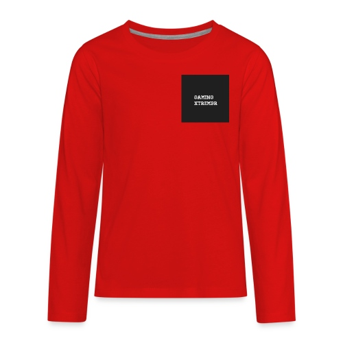 Gaming XtremBr shirt and acesories - Kids' Premium Long Sleeve T-Shirt