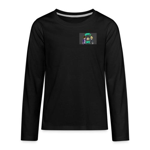 Bro's For Life - Kids' Premium Long Sleeve T-Shirt