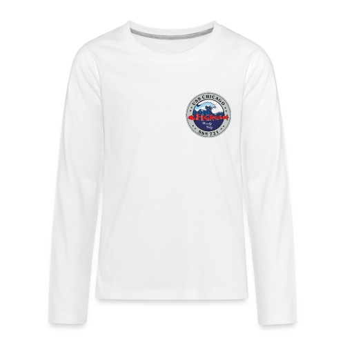 CHICAGO SSN 721 CREST 1 png - Kids' Premium Long Sleeve T-Shirt