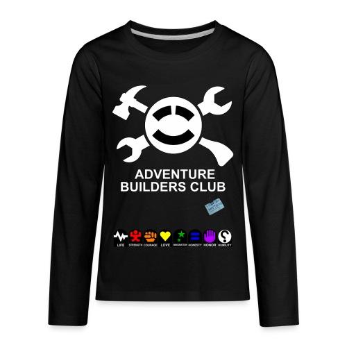 Adventure Builders Club - Kids' Premium Long Sleeve T-Shirt