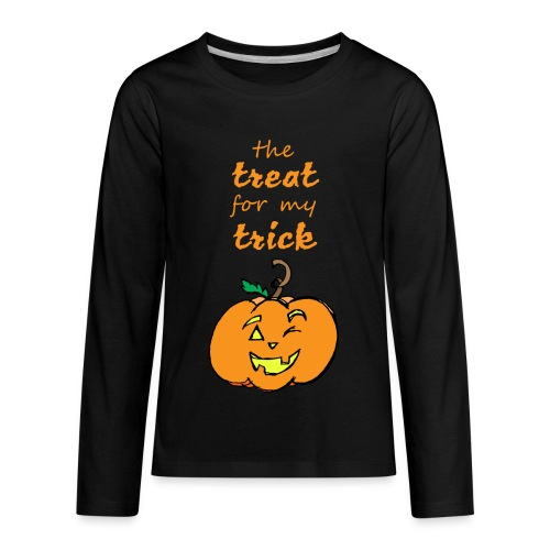 Trick or Treat Maternity - Kids' Premium Long Sleeve T-Shirt