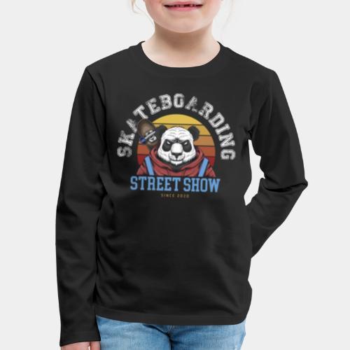 skateboard sk8 - Kids' Premium Long Sleeve T-Shirt