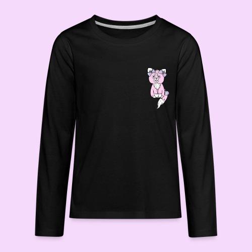 Lolipup Pack: Strawberry Pup! - Kids' Premium Long Sleeve T-Shirt
