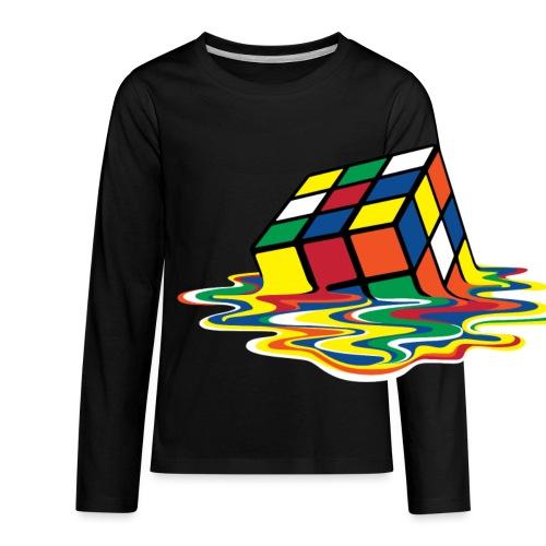 meltingcube - Kids' Premium Long Sleeve T-Shirt