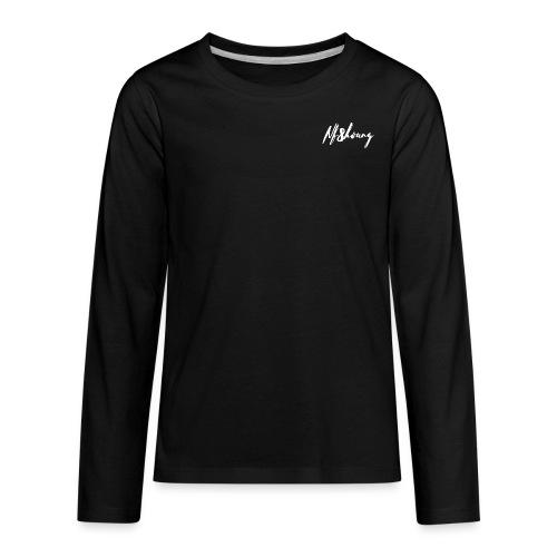 Nf8hoang Signature - Kids' Premium Long Sleeve T-Shirt