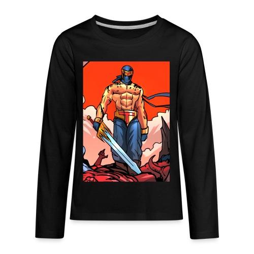 P4TD png - Kids' Premium Long Sleeve T-Shirt