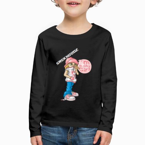 saskhoodz girl - Kids' Premium Long Sleeve T-Shirt