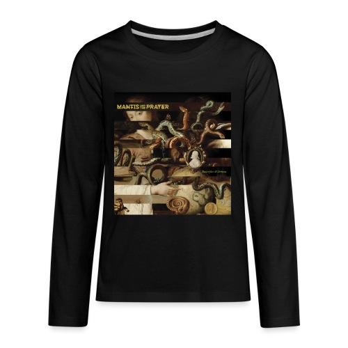 Mantis and the Prayer- Butterflies and Demons - Kids' Premium Long Sleeve T-Shirt