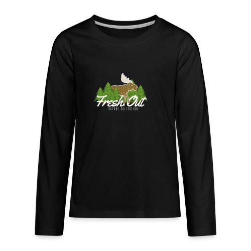 Fresh Out Nature Collection - Kids' Premium Long Sleeve T-Shirt