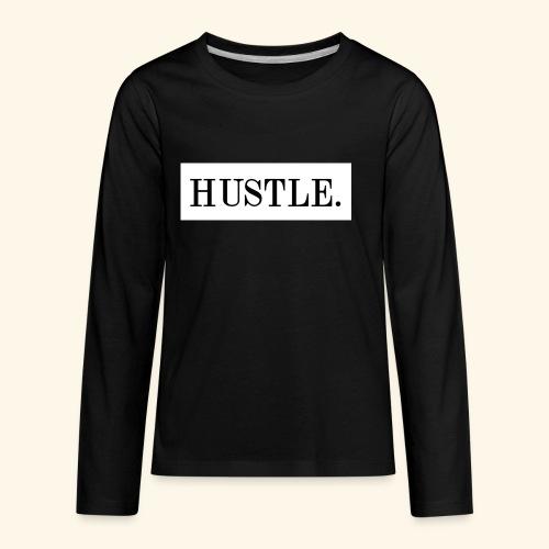 Hustle - Kids' Premium Long Sleeve T-Shirt