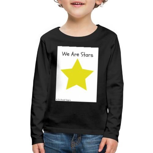 Hi I'm Ronald Seegers Collection-We Are Stars - Kids' Premium Long Sleeve T-Shirt