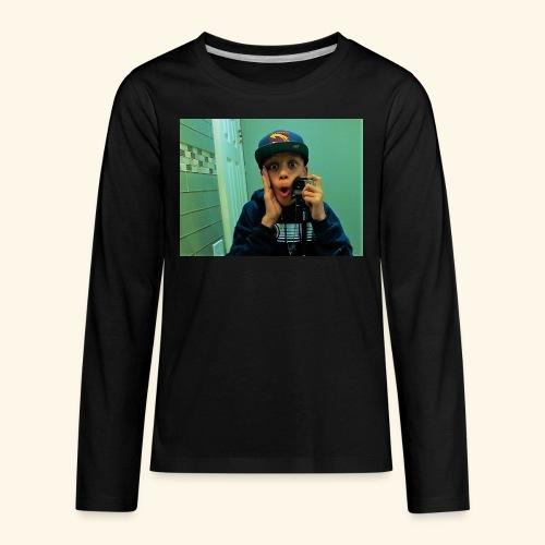 Pj Vlogz Merch - Kids' Premium Long Sleeve T-Shirt