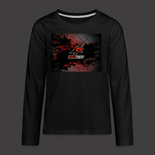 RedOpz Splatter - Kids' Premium Long Sleeve T-Shirt