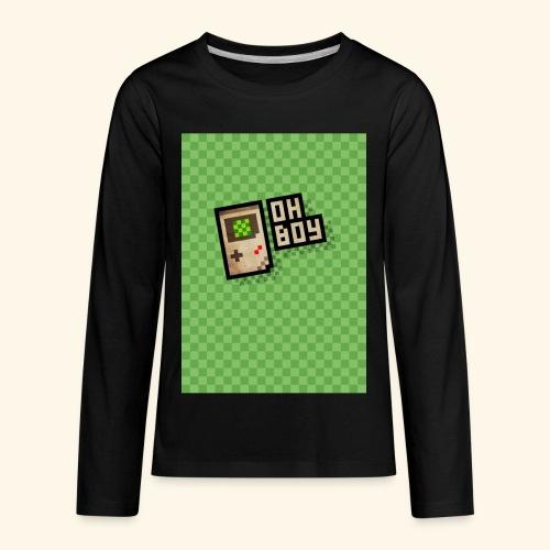 oh boy handy - Kids' Premium Long Sleeve T-Shirt