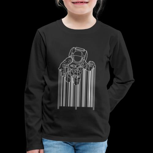 Scan Space - Kids' Premium Long Sleeve T-Shirt