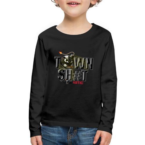 Town Shit - Kids' Premium Long Sleeve T-Shirt