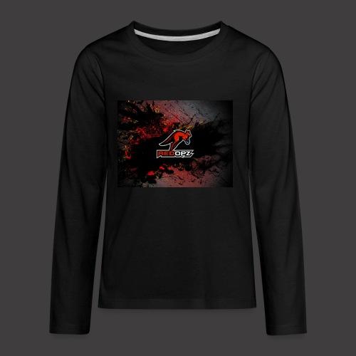RedOpz Splatter - Kids' Premium Long Sleeve T-Shirt