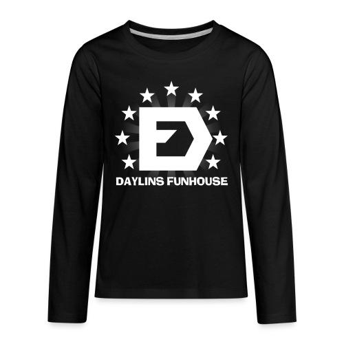 DF Classic Logo - Kids' Premium Long Sleeve T-Shirt