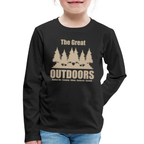 The great outdoors - Clothes for outdoor life - Kids' Premium Long Sleeve T-Shirt