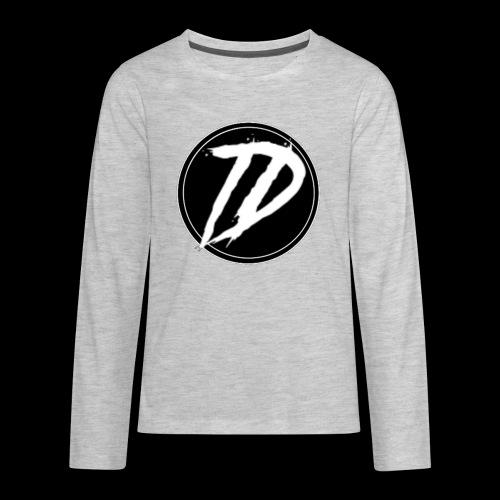 Team DEBUG Logo - Kids' Premium Long Sleeve T-Shirt