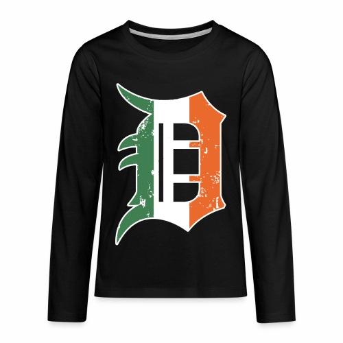 IRISH D - Kids' Premium Long Sleeve T-Shirt