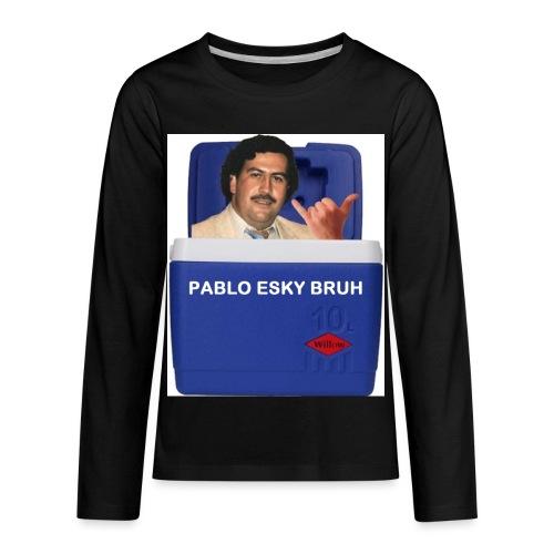 Pablo Esky Bruh - Kids' Premium Long Sleeve T-Shirt