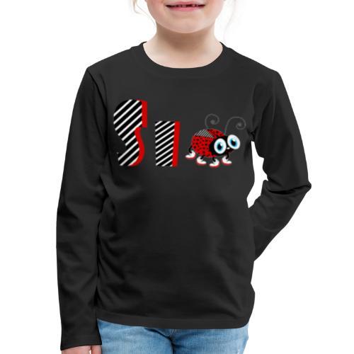 6nd Year Family Ladybug T-Shirts Gifts Daughter - Kids' Premium Long Sleeve T-Shirt