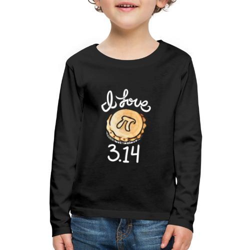 I love Pi - Kids' Premium Long Sleeve T-Shirt