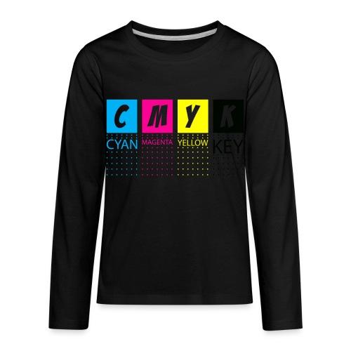CMYK T SHIRTS - Kids' Premium Long Sleeve T-Shirt