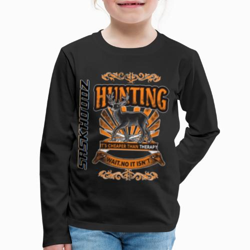 saskhoodz deer - Kids' Premium Long Sleeve T-Shirt