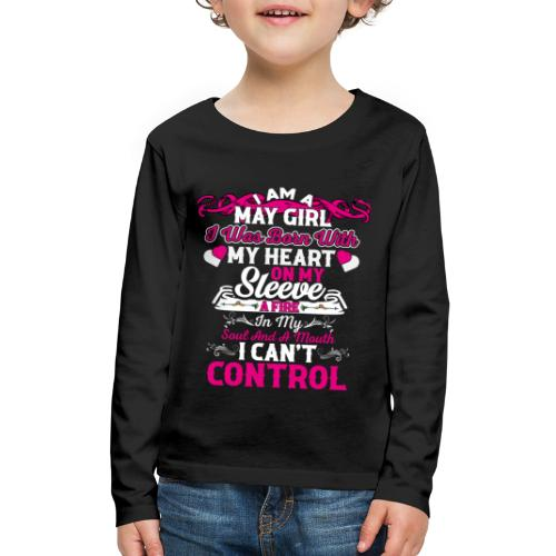 MAY GIRL - Kids' Premium Long Sleeve T-Shirt