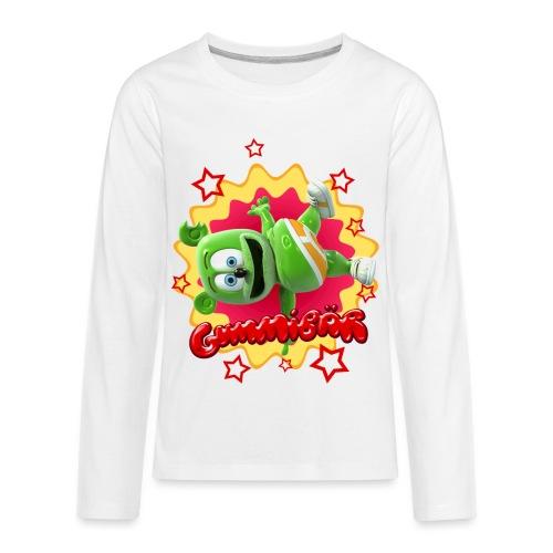Gummibär Starburst - Kids' Premium Long Sleeve T-Shirt