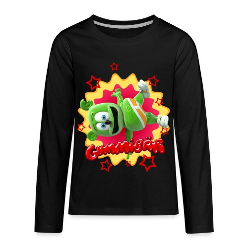 Gummibär Starburst - Kids' Premium Long Sleeve T-Shirt