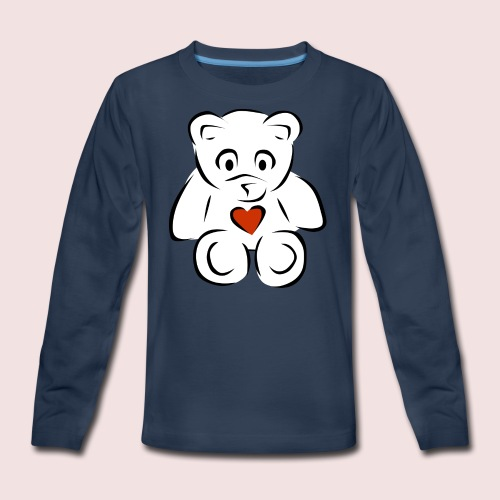 Sweethear - Kids' Premium Long Sleeve T-Shirt