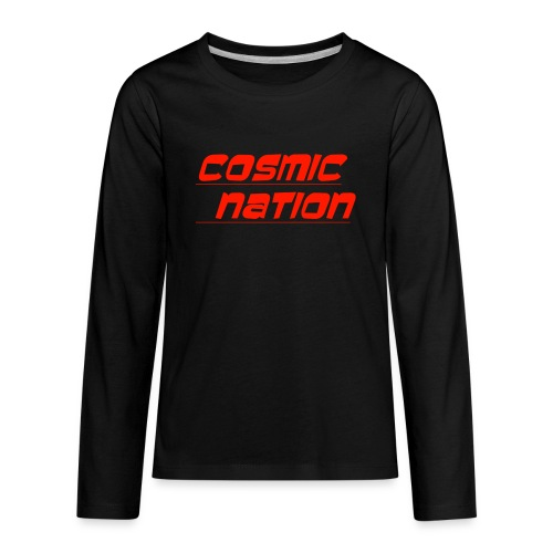 Cosmic Nation Logo - Kids' Premium Long Sleeve T-Shirt