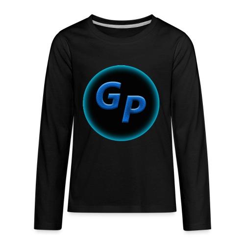 Large Logo Without Panther - Kids' Premium Long Sleeve T-Shirt